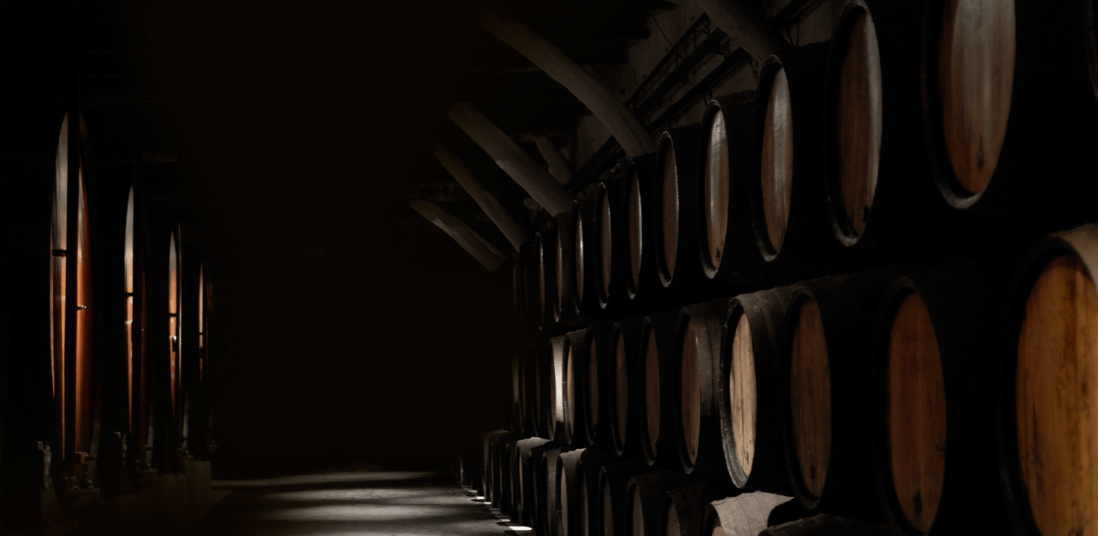 OUR GRAPPAS AGED IN BARRIQUES AND BARRELS OF REFINED WOOD